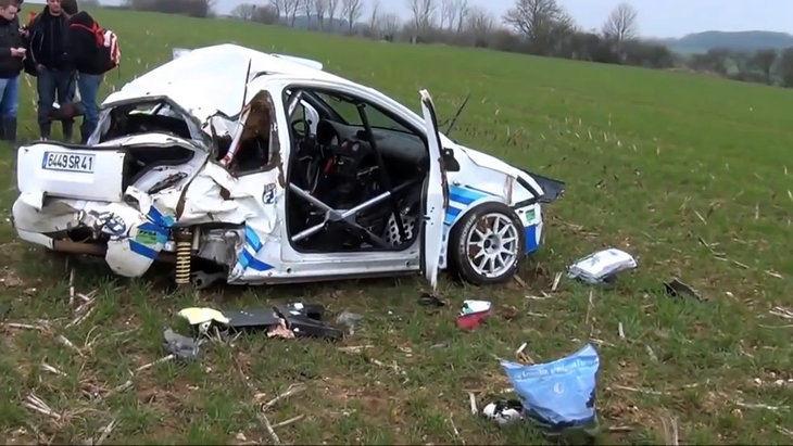 Los accidentes más bestias del mundo de la competición en 2018