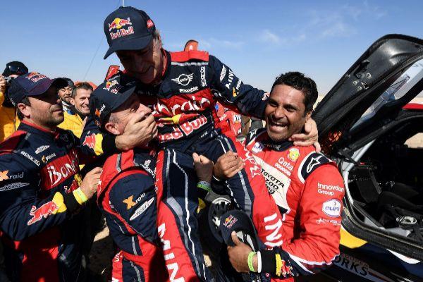 Carlos Sainz, premio a la tenacidad