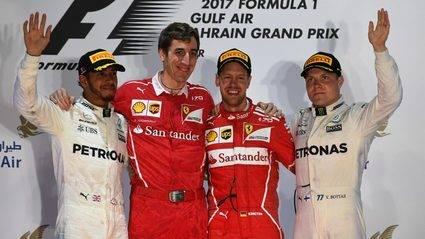 Vettel fulmina a Mercedes