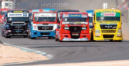 Fin de semana de camiones en el Jarama