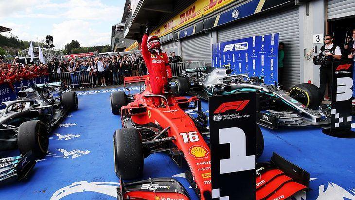 GP de Bélgica F1 2019: Charles Leclerc le da la primera victoria a Ferrari