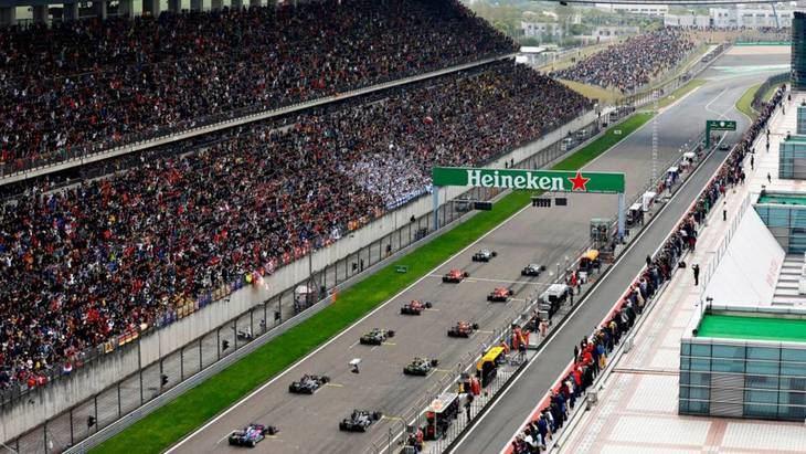 GP de China F1: Horarios y neumáticos