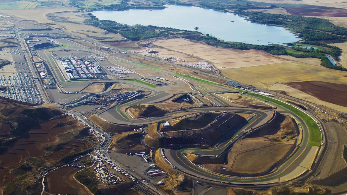 Circuito Aragon : Circuito de aragón revista coches