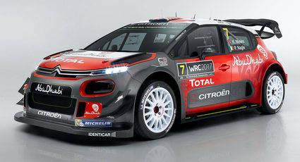 Citroen presenta su WRC para ganar el Mundial en 2017