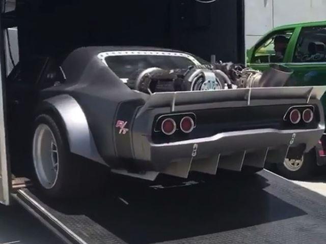 Mira el nuevo coche de Dominic Toretto