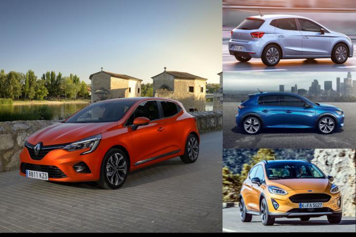 El Nuevo Reanult Clio 'V', frente a los Ford Fiesta, Peugeot 208 y Seat Ibiza