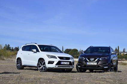Enfrentamos al todopoderoso Nissan Qashqai contra el Seat Ateca FR, 'El Matarreyes'