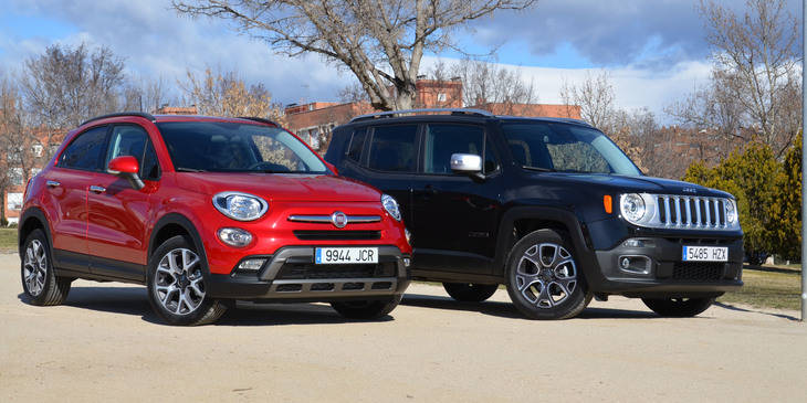 Fiat 500X vs Jeep Renegade