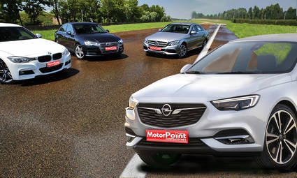 Comparamos el Opel Insignia, Audia A4, BMW Serie 3 y Mercedes Benz Clase C