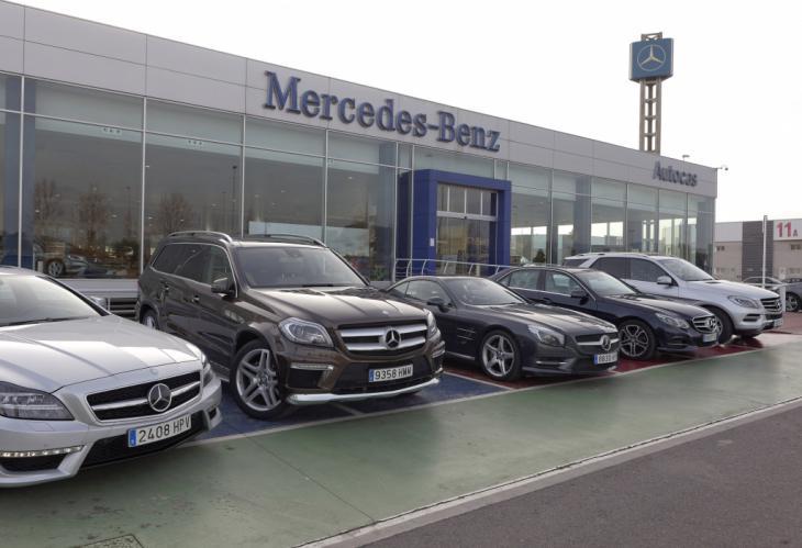 Mercedes se estrella en el mes de agosto
