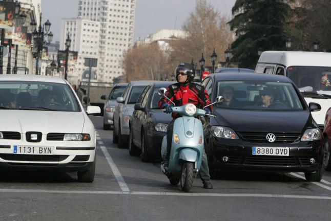 Restrincciones de trafico en el centro de Madrid