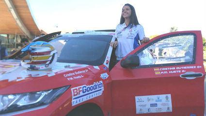 Cristina Gutierrez en el Dakar 2019 con Mitsubishi
