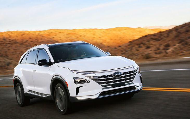 Hyundai NEXO con pila de combustible