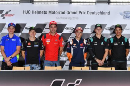 MotoGP y MotoE en Alemania y, SuperBikes en Inglaterra