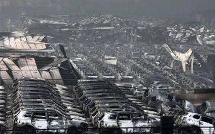 Tainjin: Miles de millones de dolares en perdidas