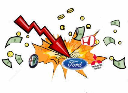 Ford cae en picado