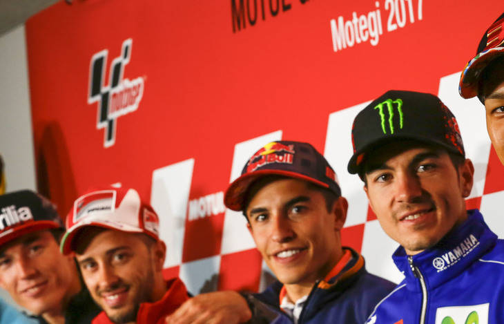 Márquez y Dovizioso, con el mismo objetivo