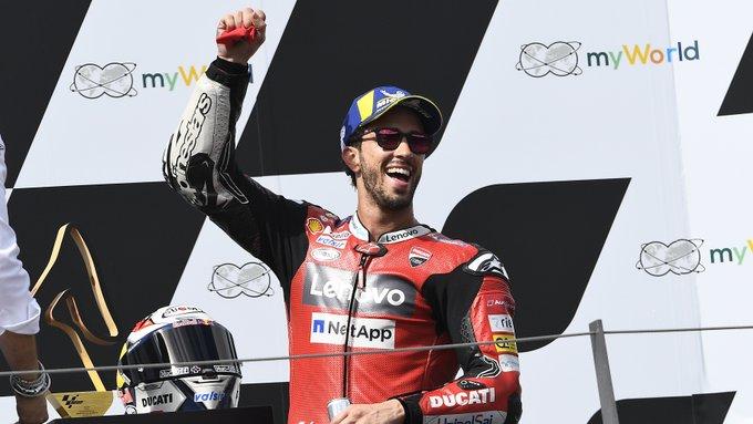 Andrea Dovizioso se reivindicó por todo lo alto en el Red Bull Ring.