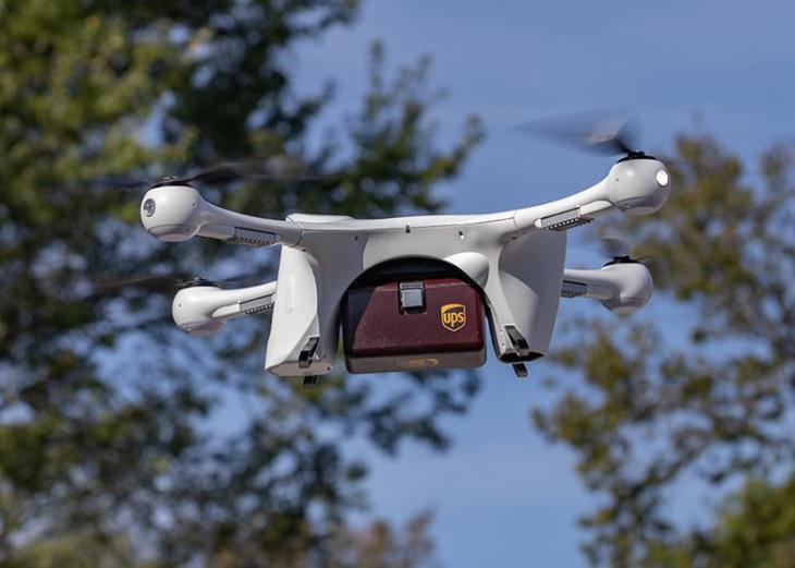 UPS ha comenzado las entregas de paquetes con drones
