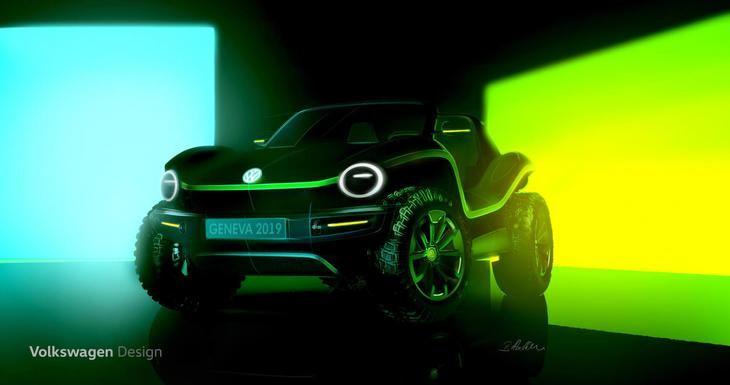 VW resucita el Buggy de los años 60