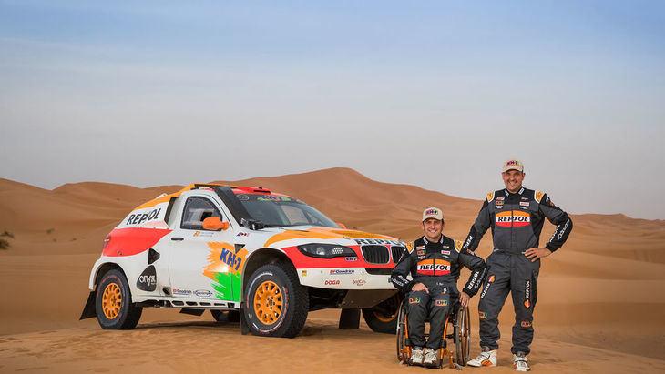 Isidre Esteve preparado para el Dakar