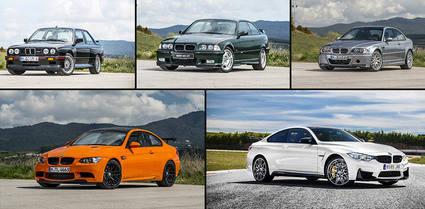 La evoluci�n de los BMW M3 Coup� y BMW M4
