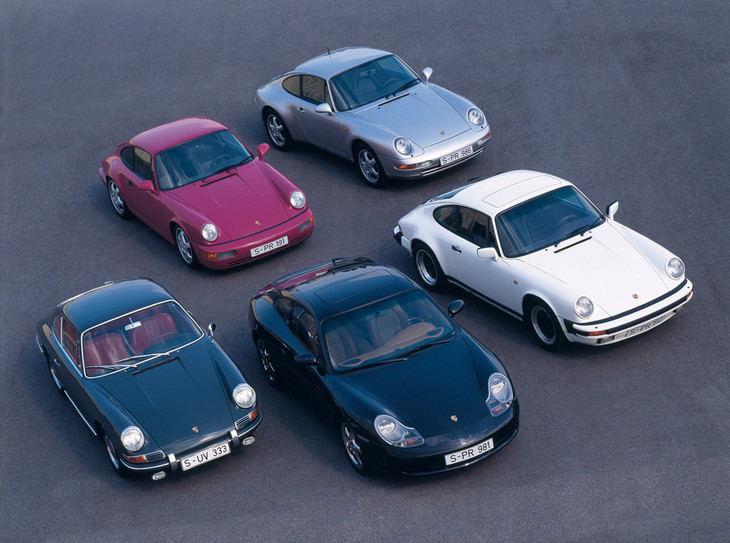 Evolución de los coches más representativos