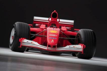 El F2001 de Michael Schumacher, vendido por 6,3 millones de euros