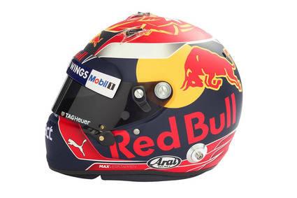 Max Verstappen nos enseña su nuevo casco