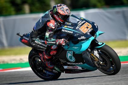 Quartararo el más rápido en la primera jornada del Gran Premio de la República Checa