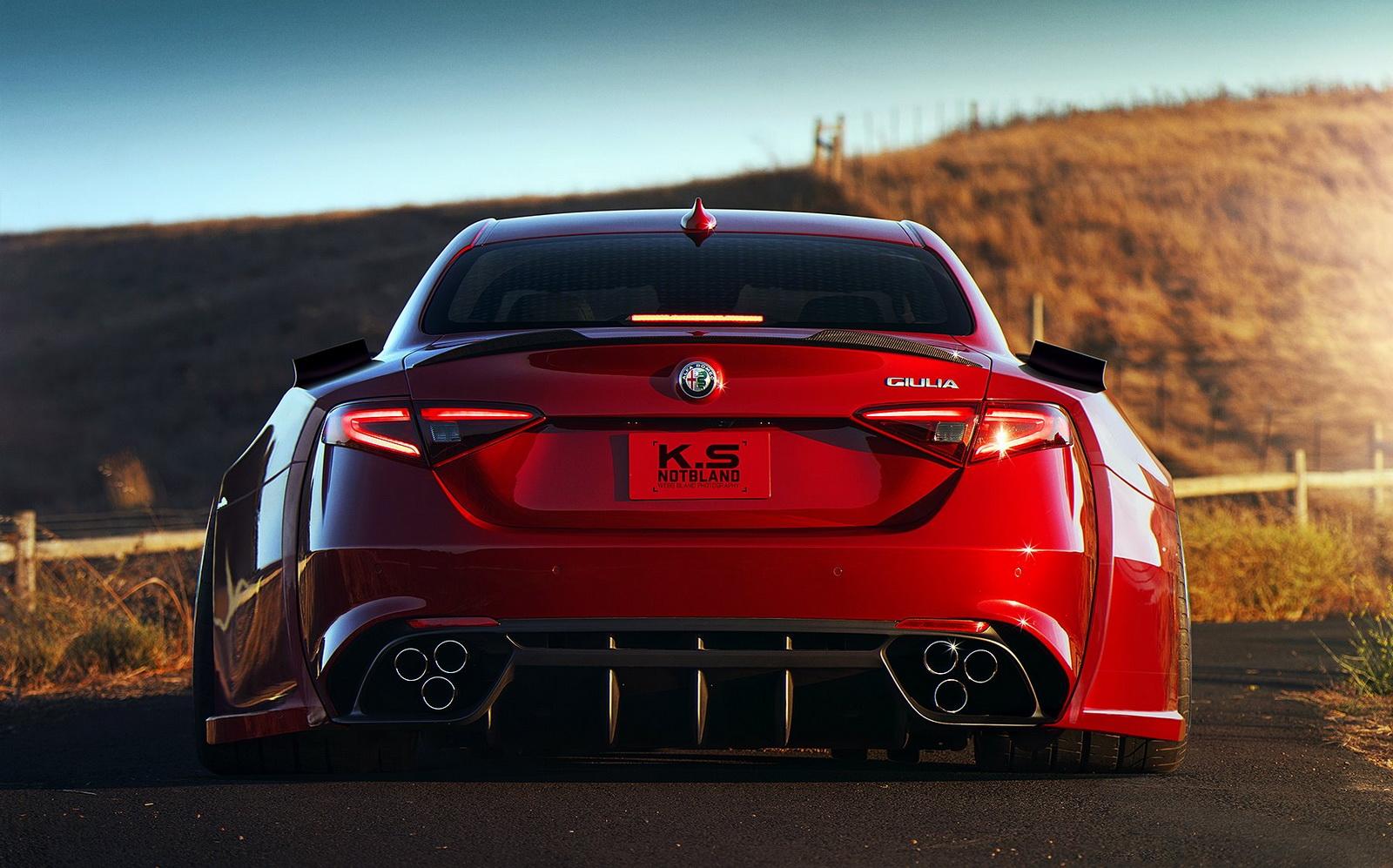 Un Alfa Romeo Giulia Quadrifoglio todavía más espectacular | Revista de  coches,