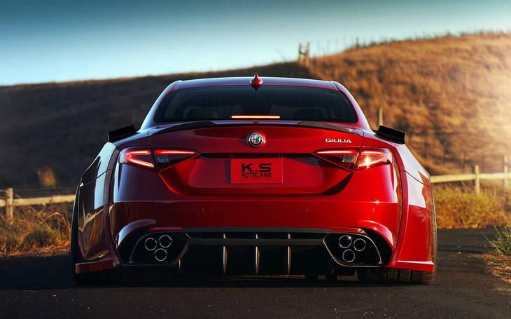 Un Alfa Romeo Giulia Quadrifoglio todavía más espectacular