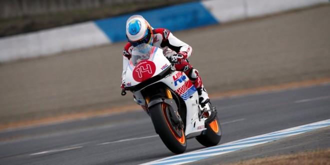Fernando Alonso se sube a una MotoGP