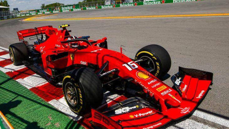 GP de Canadá F1: Ferrari en cabeza en un día confuso