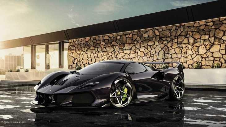 Ferrari F40 de ensueño