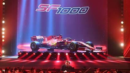 Ferrari presenta el F1000 para esta temporada