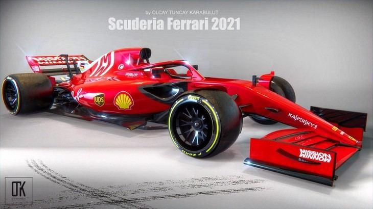 El Ferrari SF21 de Leclerc y Sainz se presenta con muchos cambios