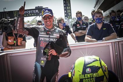 Morbidelli pole position en el Gran premio de Cataluña
