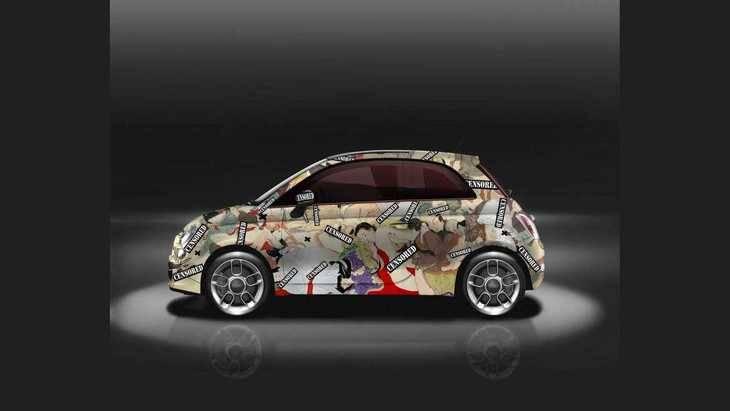 El Fiat 500 Kamasutra