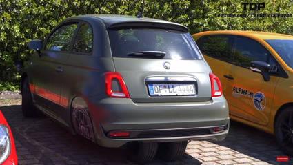 Atentos a la increíble modificación de este Fiat 500