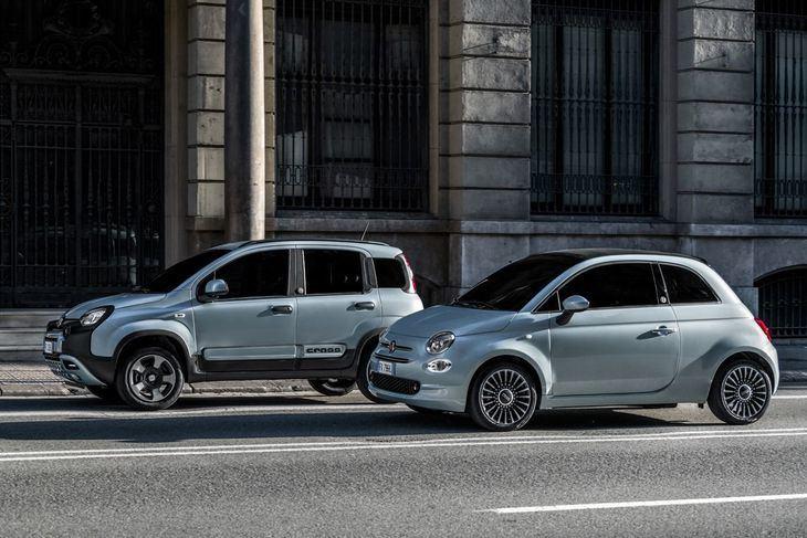 Fiat 500 y Panda Hybrid monta el Pack D-Fence