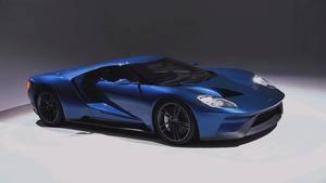 Conoce c�mo se fabric� el Ford GT 2017