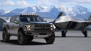 Ford F-150 Raptor inspirado en el Lockheed Marin F-22 Raptor