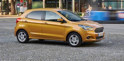Nuevo Ford Ka+, m�s din�mico, grande y eficiente