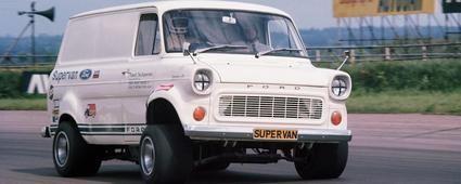Una Ford Supervan de locura