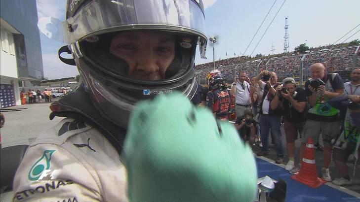Pole de Rosberg en un d�a interminable