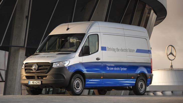 Mercedes-Benz eSprinter comienza su venta