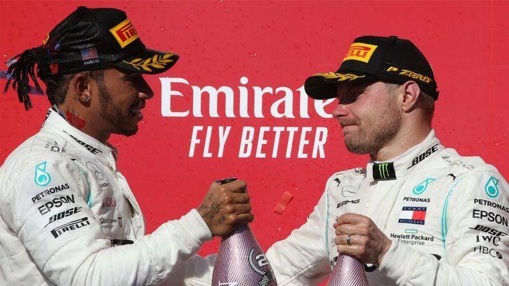 GP de EE UU F1 2019: Bottas gana y Hamilton se proclama Campeón del Mundo