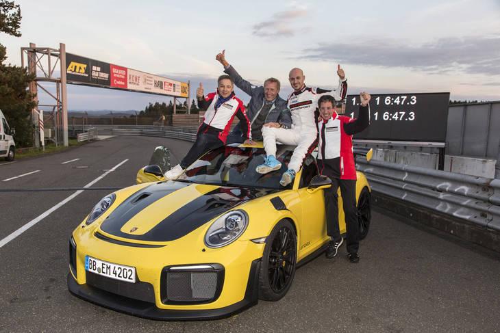 El Porsche GT2 RS es el más rápido de la historia