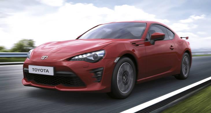 Nuevo Toyota GT86 2017 desde 32.990 euros